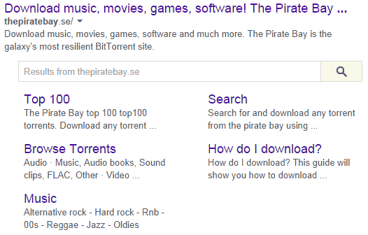 the pirate bay se